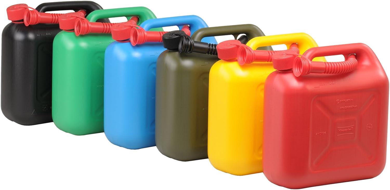 D/Ã/¶nges 10l plastic gas can black T/Ã/œV//GS//UN-approved