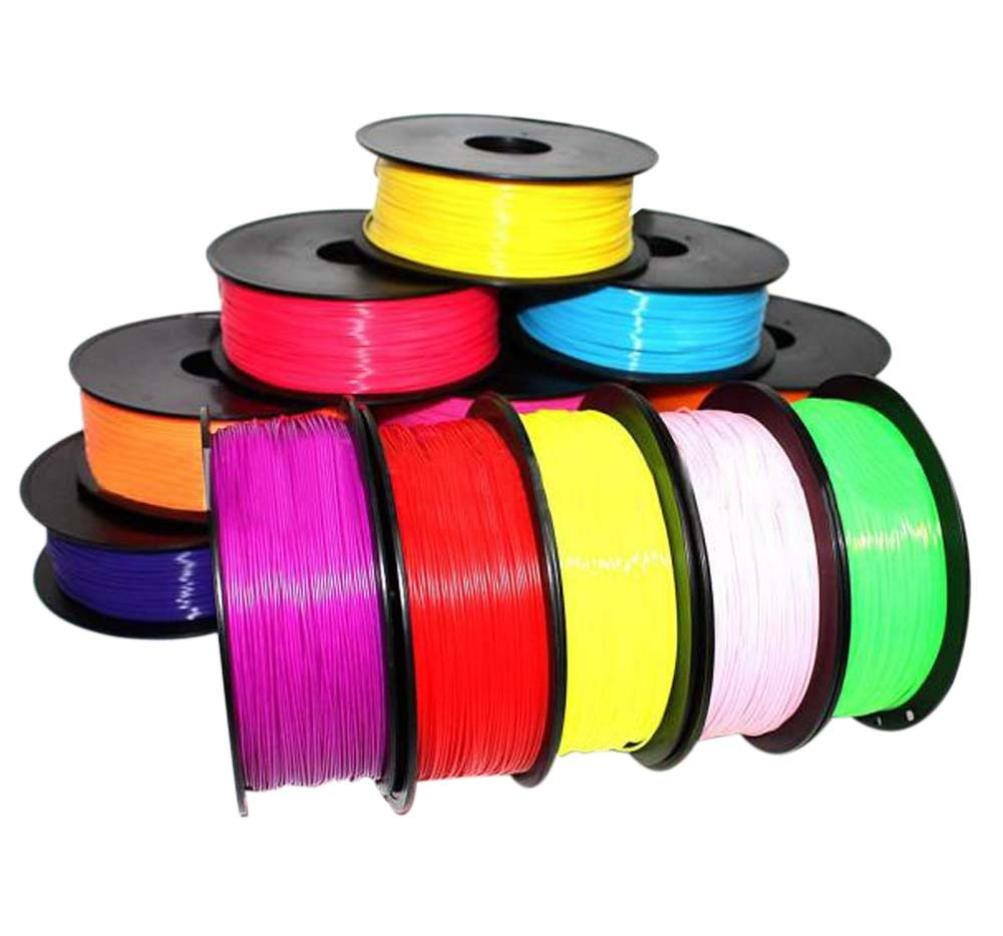 Billila 1.75mm Print Filament ABS Modeling Stereoscopic For 3D Drawing Printer Pen 10M (1.75mm, A4)