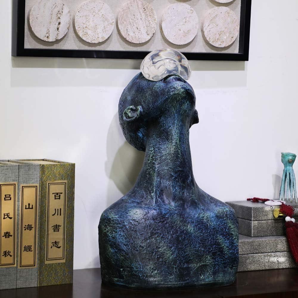 綺麗な 目覚め文字飾り現代のリビングルームのテレビキャビネットコンソールテーブルロードされた軟質アクリル樹脂の装飾品33 * 28 * 52センチメートル