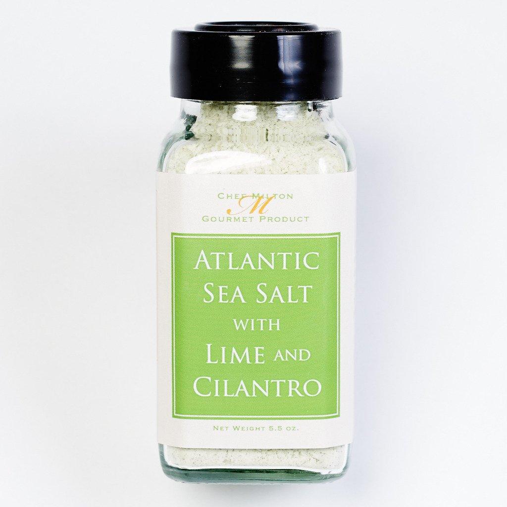 Chef Milton Atlantic Sea Salt with Lime and Cilantro