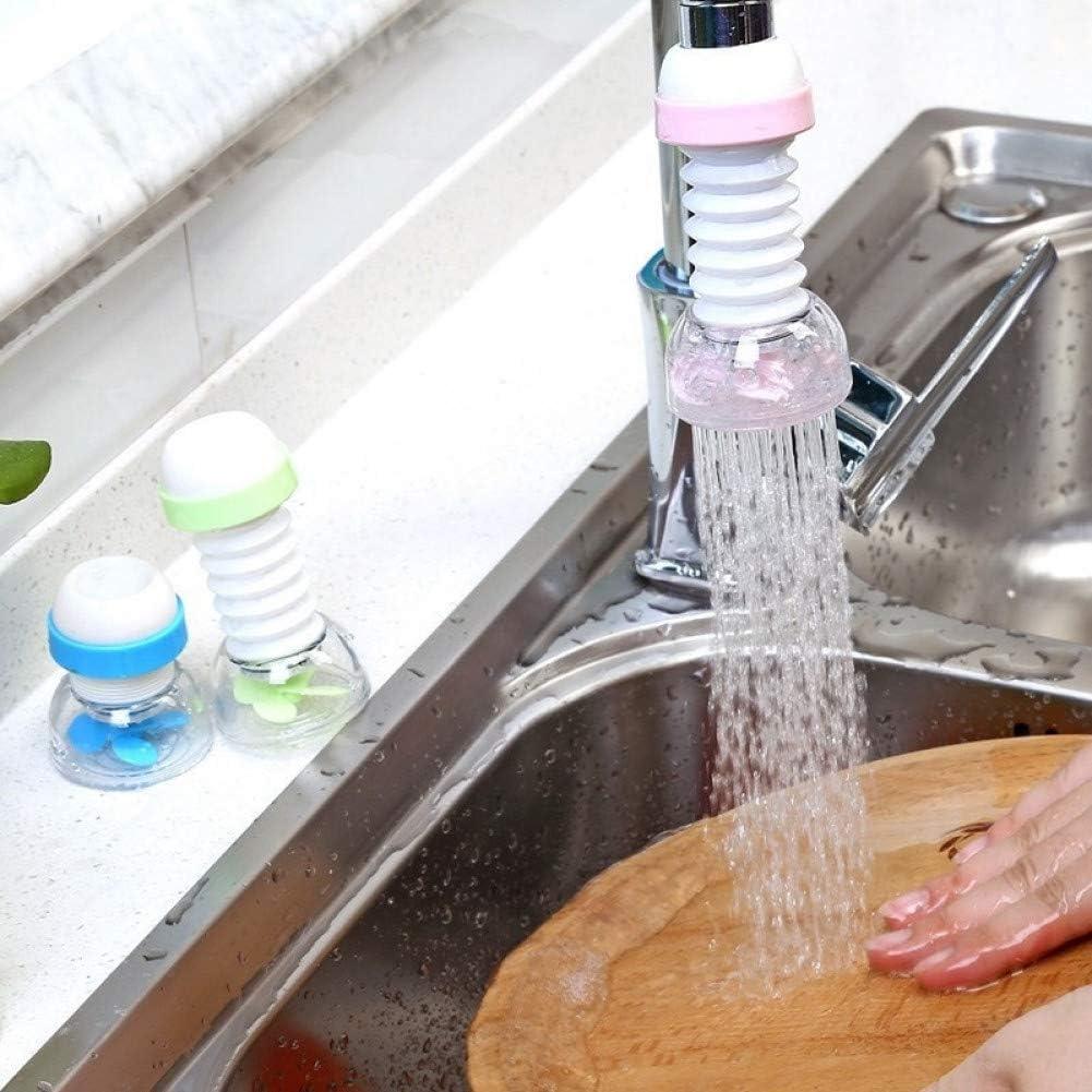 360 Adjustable Flexible Kitchen Faucet Tap Extender Save Water Splash-Proof Water Outlet Shower Head Water Filter Sprink