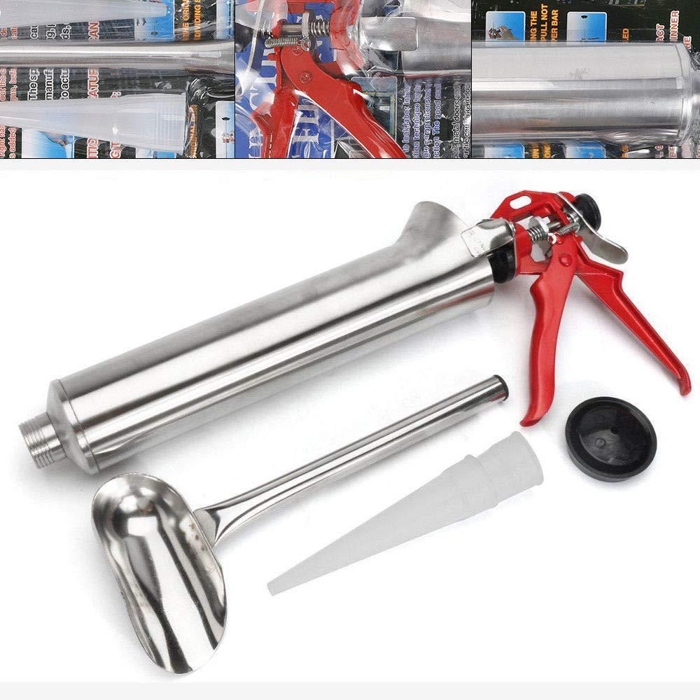 Cement Grout Mortar Caulk Pointing Grouting Gun Stainless Steel Building