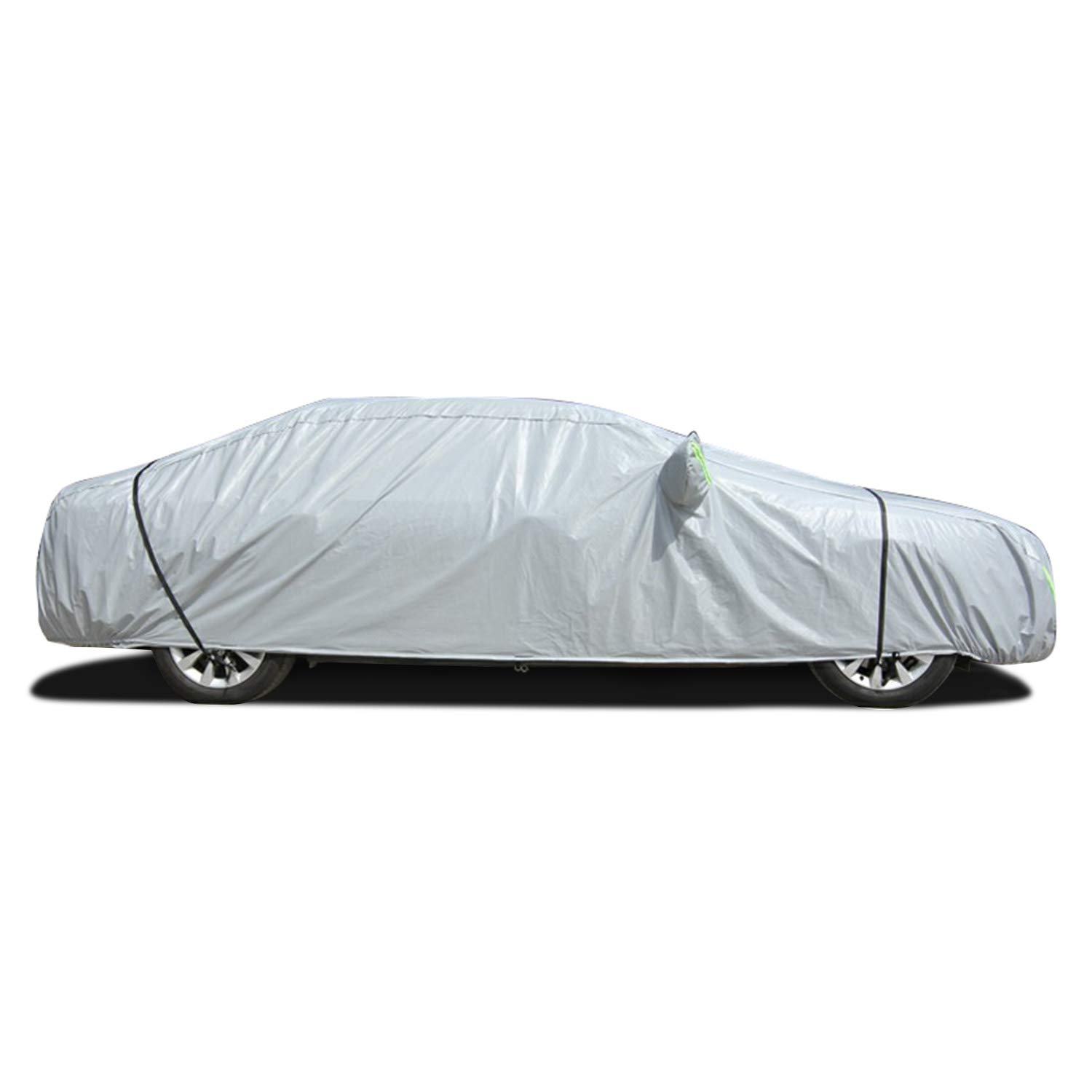 163 L x 67 Wx 59 H Free Windproof Ribbon /& Anti-Theft Lock Car Covers for Sedan Auto Automobiles OOFIT Waterproof Windproof All Weather Cover