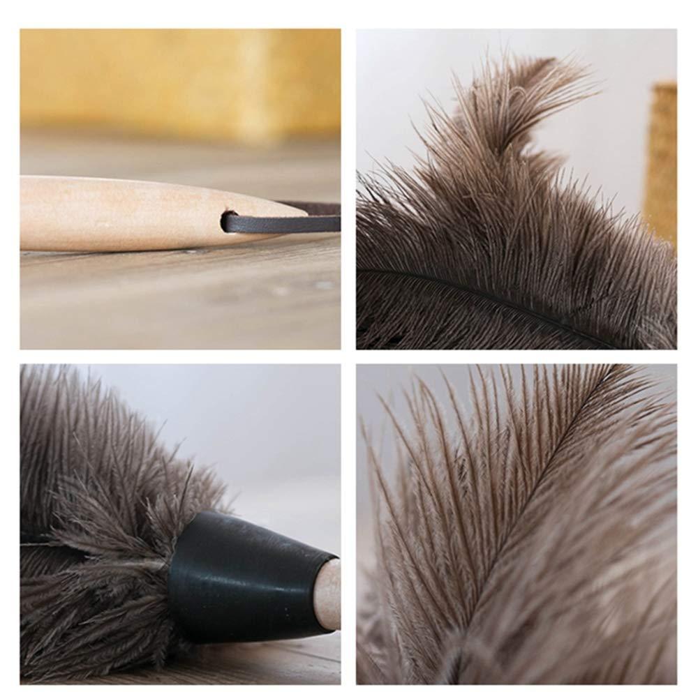 ZhiGe ZhiGe ZhiGe Staubwedel,Großer Strauß Haare Duster Staubwedel Hausstaub Duster Nicht elektrostatisch Auto Sweep 55cm B07J33KDF3 Staubwedel ccd367