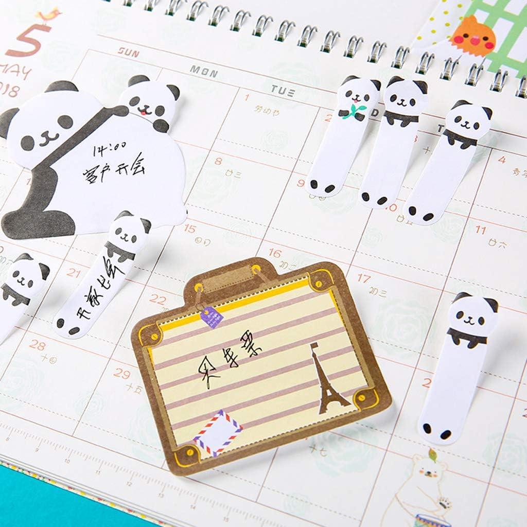 12.3 12.3/* 7.5/cm cute Animal Sticky notes memo Pad materiale scolastico planner adesivi cancelleria 7.3cm Tower 20/fogli