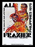 SPORT ADVERT BOXING THRILLA IN MANILA ALI FRAZIER FIGHT PHILIPPINES 30x40 cms ART POSTER PRINT PICTURE CC6866