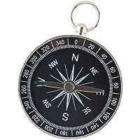 Phenovo Portable Iron Small Professional Compass Keychain Navigation Camping Hiking Survival Tool
