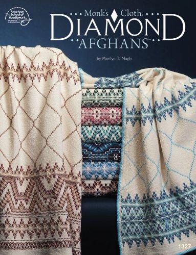 Monk's Cloth Diamond Afghans PDF