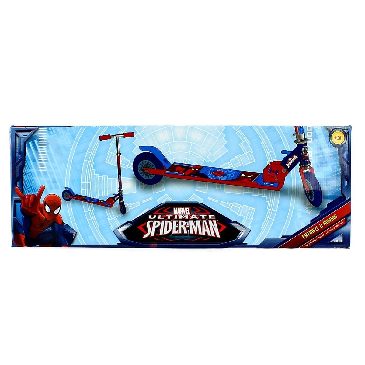 Muñecas Saica Spiderman Patinete 2 Ruedas: Amazon.es ...