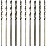 Utoolmart 1.6mm Twist Drill High Speed Steel Bit HSS-4241 for Steel Aluminum Alloy 10pcs