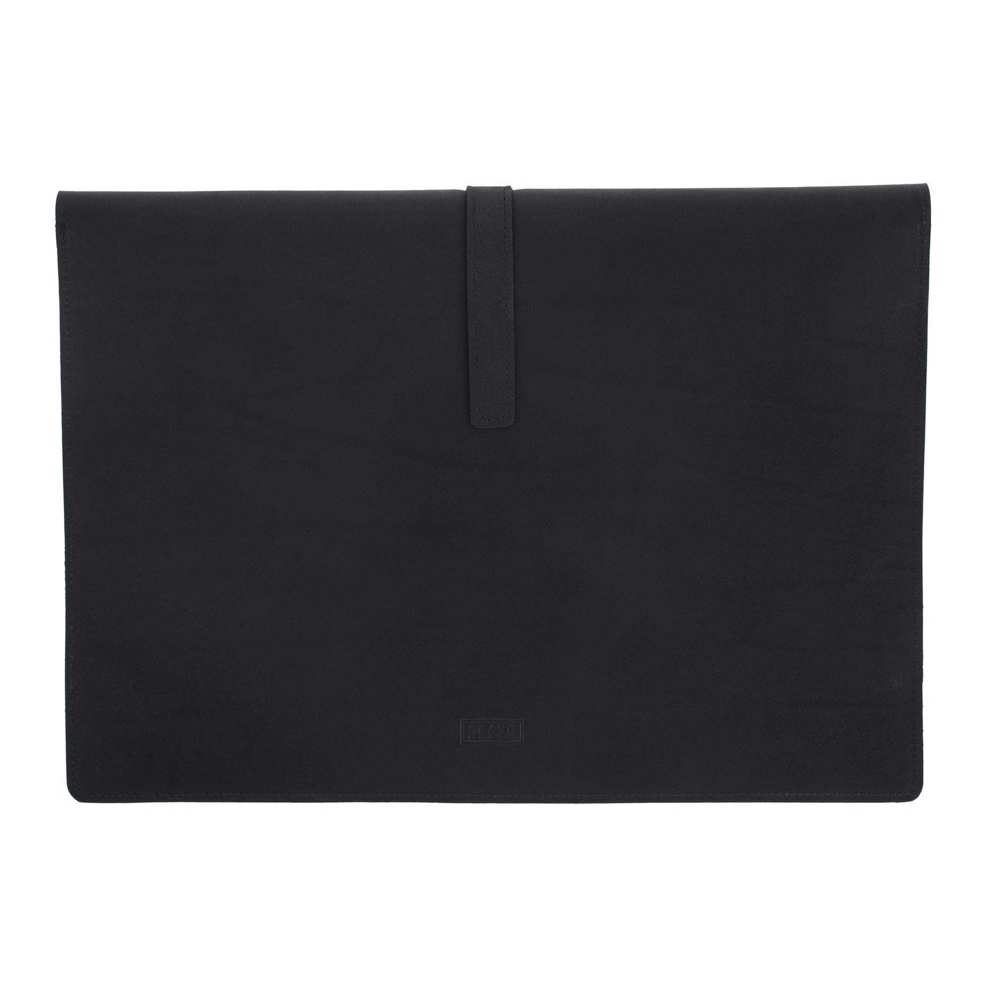 SLATE COLLECTION Belltown Small Laptop Sleeve, Full-Grain Leather (Midnight, fits 13'' Laptop) by SLATE COLLECTION (Image #4)