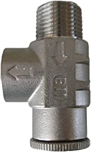 """STAINLESS STEEL 3/4"""" 75 psi PRESSURE RELIEF VALVE for WATER WELL Pump Pressure tank"""