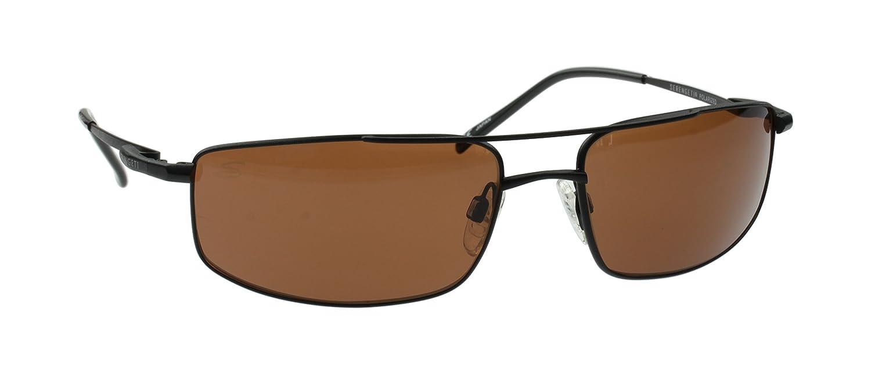 Serengeti - Gafas de Sol Modelo Lamone Negro Mate, Lentes de Cristal Conductores Polarizadas Fotocromático, Tamaño Medio: Amazon.es: Deportes y aire libre