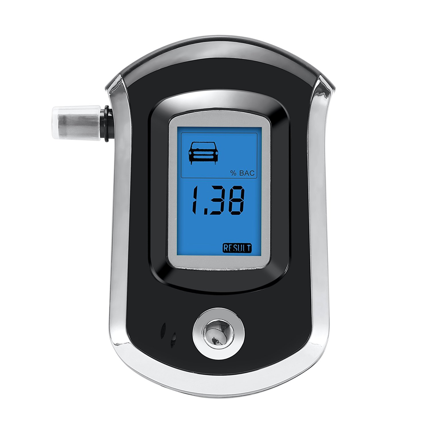 Professional Breathalyzer GDbow Portable Breath Alcohol Tester with LCD Display Digital Breath Alcohol Tester for Drivers