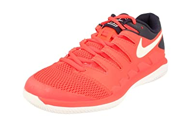 8fc41e5dc07f7 Nike Men's Zoom Vapor X Tennis Shoes (9 M US, Bright  Crimson/White/Blackened Blue)