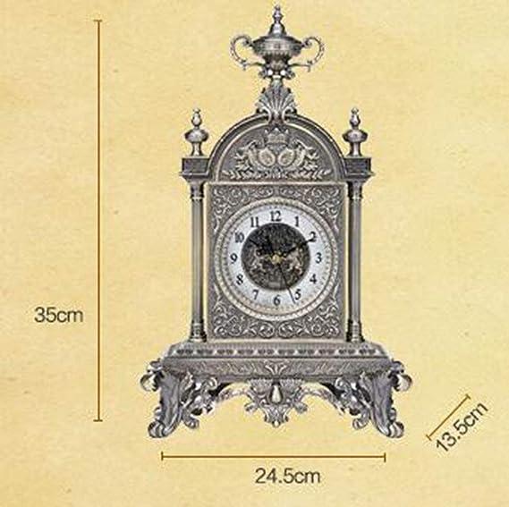 LIJIANGUO Relojes Antiguos de Bronce Relojes clásicos de Bronce: Amazon.es: Hogar