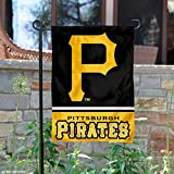 : Pittsburgh Pirates Double Sided Garden Flag