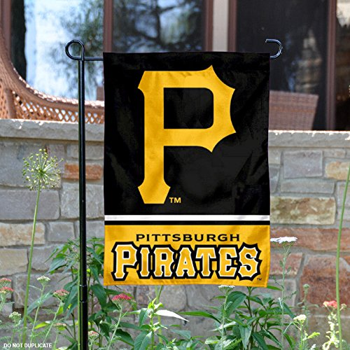 Pittsburgh Pirates Double Sided Garden Flag