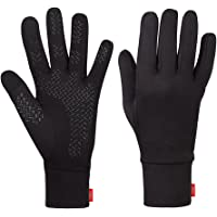 Aegend Sports Running Gloves Touch Screen Gloves Lightweight Liner Gloves For Running,Walking,Riding,Working Outdoor Men Women In Early Spring Or Fall, 3 Sizes