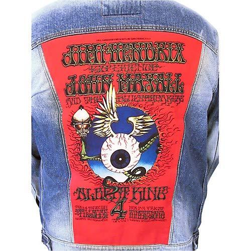 Jimi Hendrix - Mayall - King - Flying Eye Boys Denim Jacket