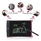 Tisy Girls Gifts Age 3-12, LCD Doodle Board Writing Drawing Tablet for Kids Toddler Teen Toys for 3-12 Year Old Girls Christmas Birthday Presents Gifts for 3-12 Year Old Rose Red TSUSLWDT05
