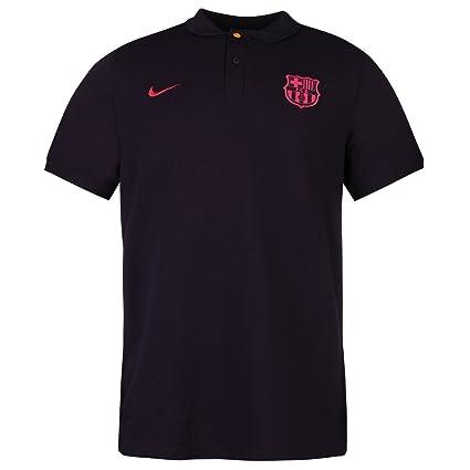 Nike FC Barcelona - Polo para hombre, color morado/rosa fútbol ...
