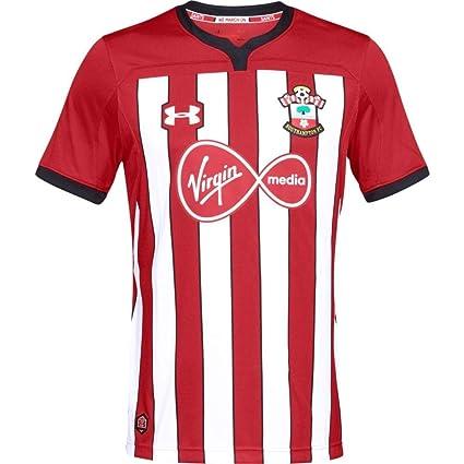 677037eeeb0 Amazon.com : Under Armour 2018-2019 Southampton Home Football Soccer T-Shirt  Jersey : Sports & Outdoors
