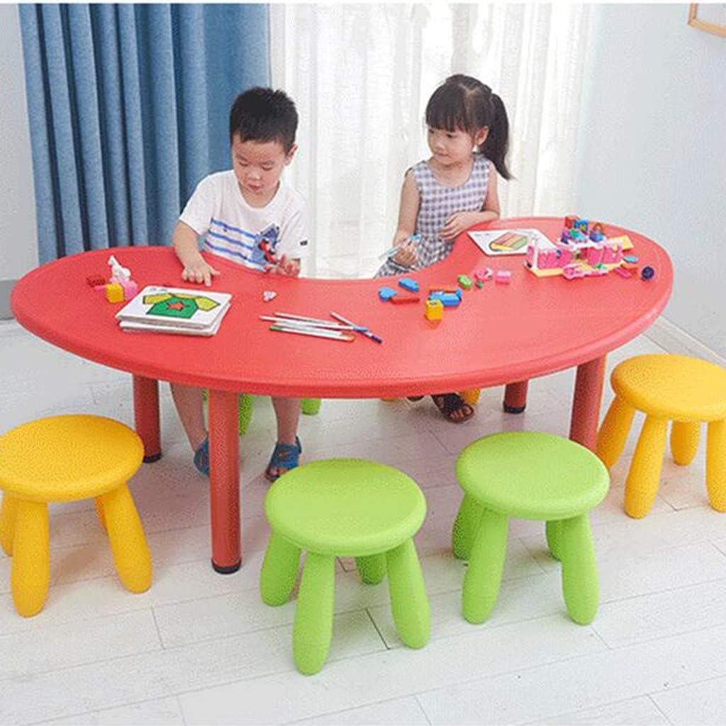 Fenteer Kinderhocker Kinderstuhl Rundhocker Hocker Kinder Spielzeug f/ür Kinderzimmer Kindergarten Blauer See