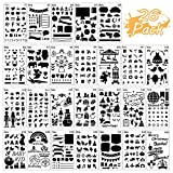 Bullet Journal Stencils 26 Packs Diary DIY Drawing Stencils, Greeting Card Template