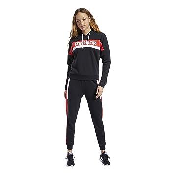 Reebok Te Linear Logo Hoody TS Conjunto Deportivo, Mujer ...