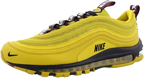 Nike Men's Air Max 97 Bright CitronBlack Black AV8368 700