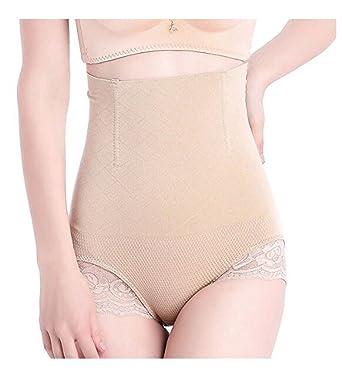 eda9a241e9 Xugq66 Women s High Waist Thong Shapewear Tummy Control Panty Waist Cincher  Comfortable Seamless Butt Lifter Panties at Amazon Women s Clothing store