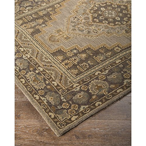Signature Design by Ashley R400021 Hand Tufted Persian Design Sangerville Accent Area Rug, 8x10, Tan