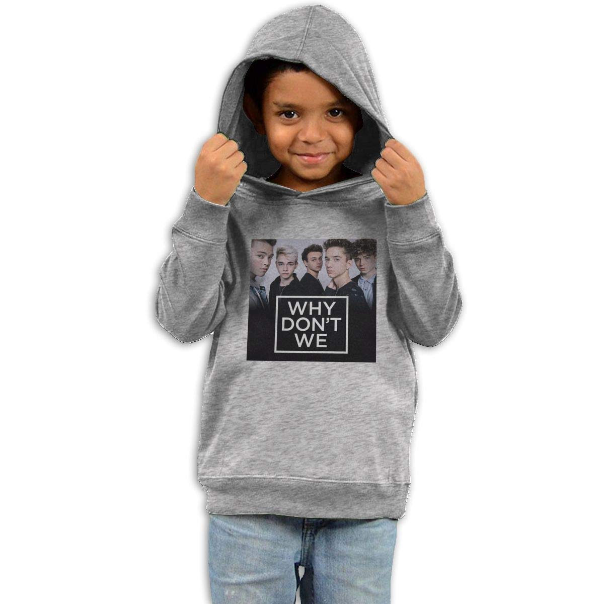 Stacy J. Payne Boys Why Don't We Particular Fleece42 Gray