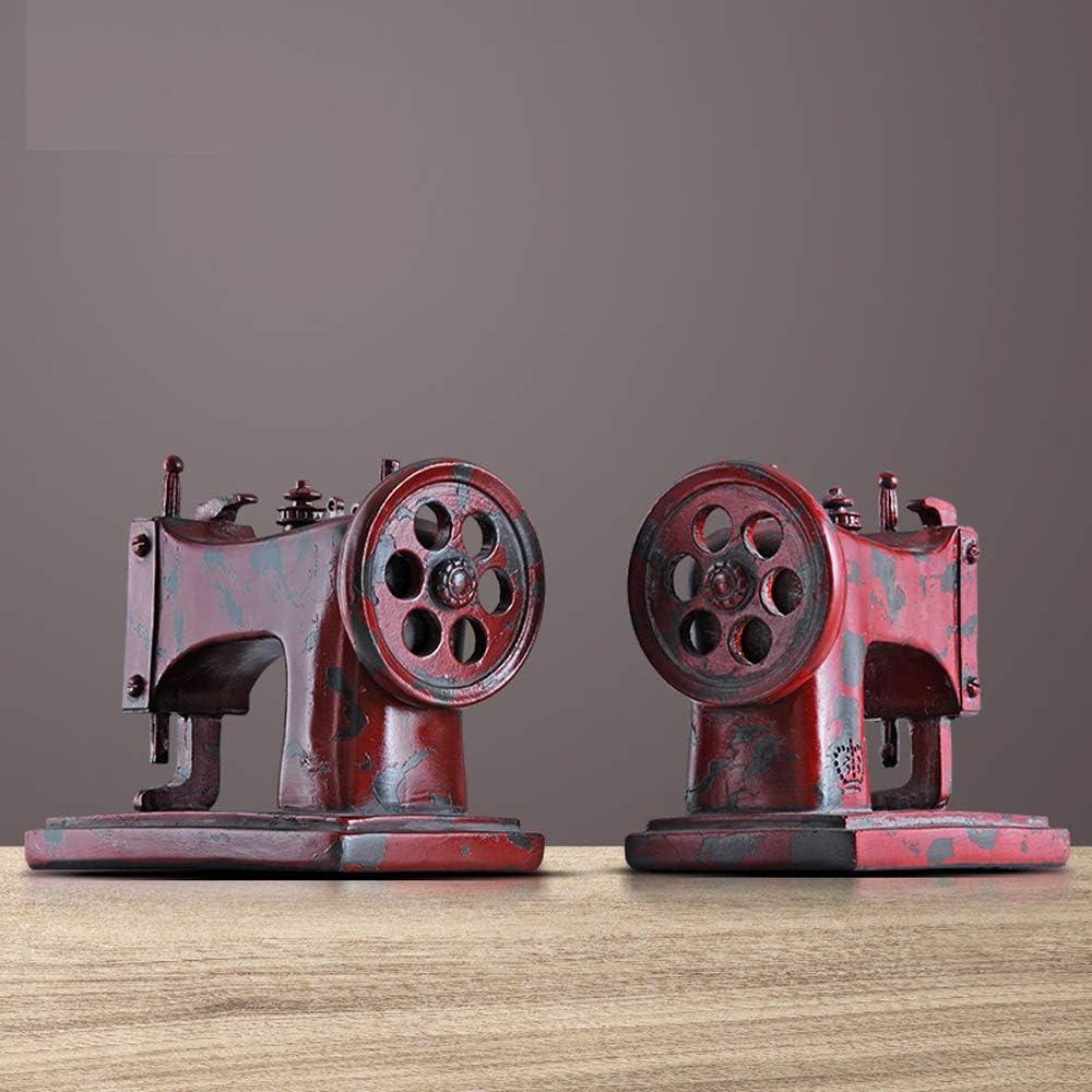 B/üro Kinderzimmer Retro Rot Hipster Heimdekoration Vintage-Stil DX Buchst/ützen f/ür N/ähmaschinen f/ür N/ähmaschinen schwere Aufbewahrung