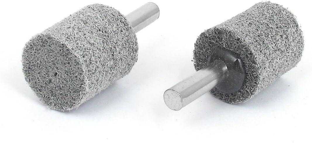 Aexit 6mm Dia Shank 20x25mm Cilindro Nylon Punto montado Puntas model: K7092IIVI-4361LP de pulidora 2PCS
