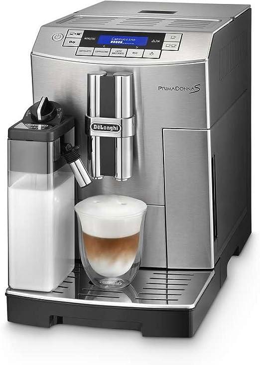 DeLonghi ECAM 28.466.MB - Cafetera (Independiente, Máquina espresso, 1,8 L, Molinillo integrado, 1450 W, Acero inoxidable): Amazon.es: Hogar