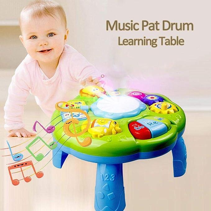 cosyhouse Mesa de Actividades de Aprendizaje para niños y niñas 2 ...