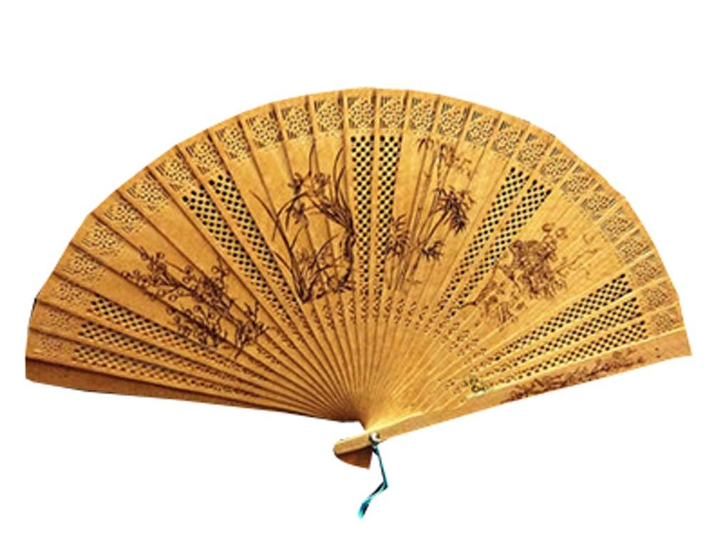 Panda Superstore Hand Fan Hand Held Fans Folding Fans Chinese Fan Chinese Fan Folding Hand Fan