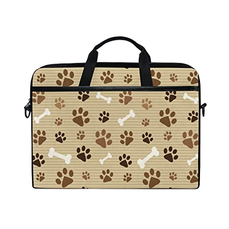 f5de384bb6b2 Amazon.com: WXLIFE Vintage Cute Dog Cat Paw Print 13 13.3 14 Inch ...