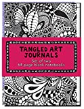 img - for Tangled Art Journals: Set of two 64-page blank notebooks book / textbook / text book