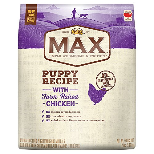 Nutro Max Puppy With Farm Raised Chicken