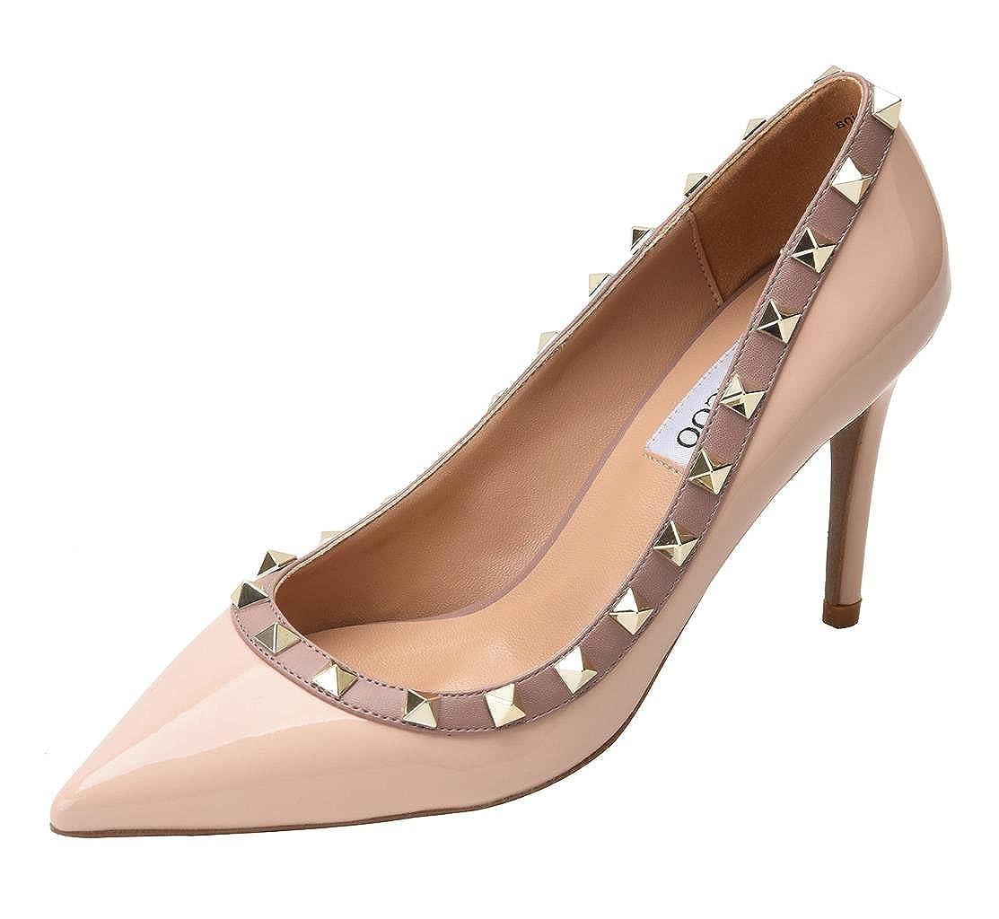 CAMSSOO MK90CMUK - Zapatos de Vestir para Mujer