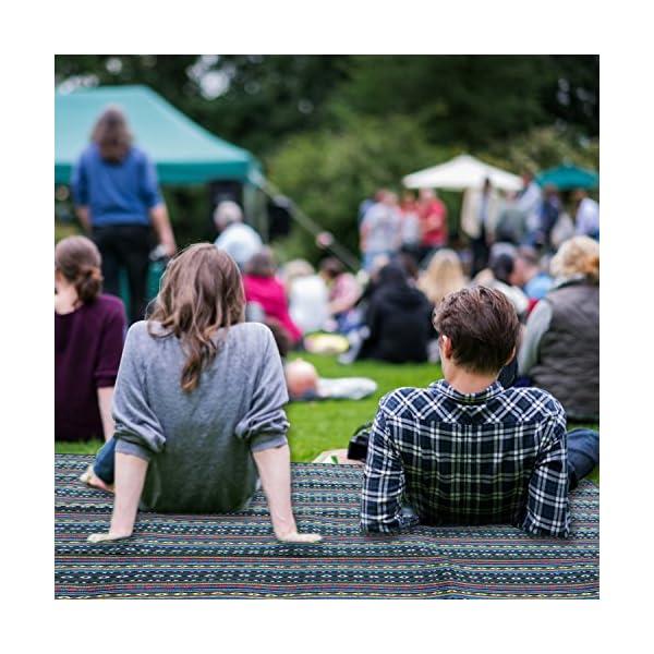 614VeINWZfL Extsud Outdoor Camping Picknick Matte Feuchtigkeit Pad Ethnische Art Tragbare Picknick Decke Wasserdicht Campingdecke…