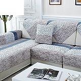 Winter Sofa Towel/Plush, Four Seasons,Anti-slip Simplicity,Modern,European Style,Living Room, Sofa/Backrest Towel-G 90x90cm(35x35inch)