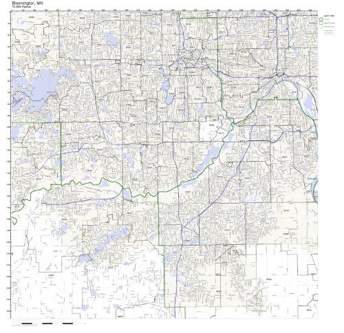 Bloomington, MN ZIP Code Map