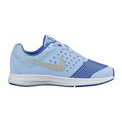 new concept 99eee 5670d Nike Girl s Downshifter 7 (PS) Pre-School Shoe Aluminum Metallic Silver
