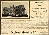 1906 Ad Kelsey Heating Generator Heaters Home - Original Print Ad