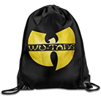 HLKPE Wu Tang Clan Distressed Gym Bag Travel Sports Drawstring Backpack