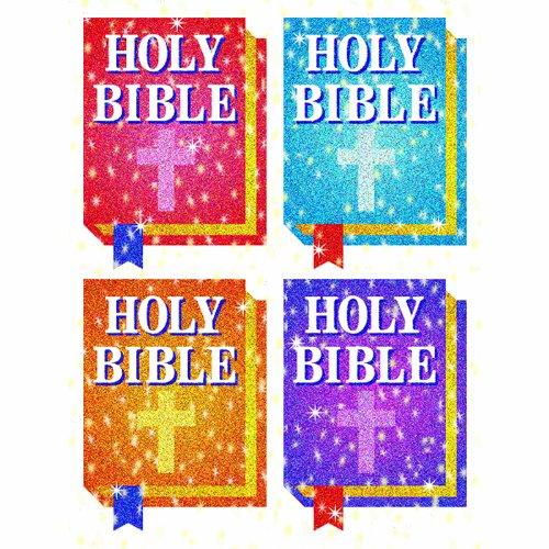 CD-2148 - DAZZLE STICKERS BIBLES 120/PK ACID